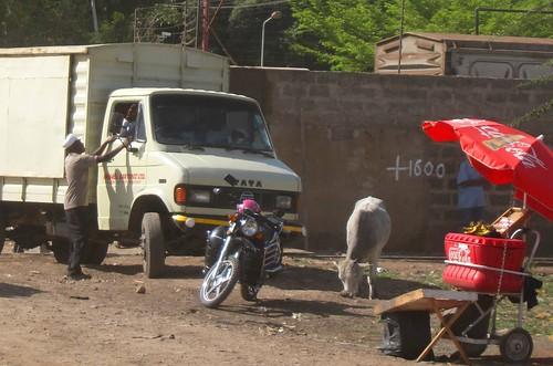 side of road stall nairobi kenya by Danalynn C