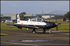 CN-BTR (Taxiway Alpha Photography) Tags: uk cn canon scotland force alba glasgow air royal 7d gb delivery 18 raytheon beech trainer prop moroccan texan tr gla glasgowinternationalairport millitary morrocan egpf t6c royalmoroccanairforce hawkerbeech cnbtr