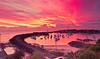 Wollongong Harbour Sunrise (Taha Elraaid) Tags: beautiful sunrise canon image harbour australia nsw 7d taha wollongong illawarra wollongongharbour thegong wollongongcity elraaid tahaphotography tahaelraaid