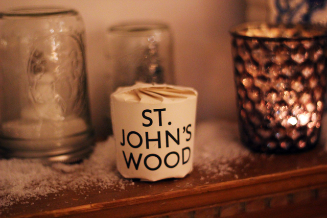 st johns wood candle