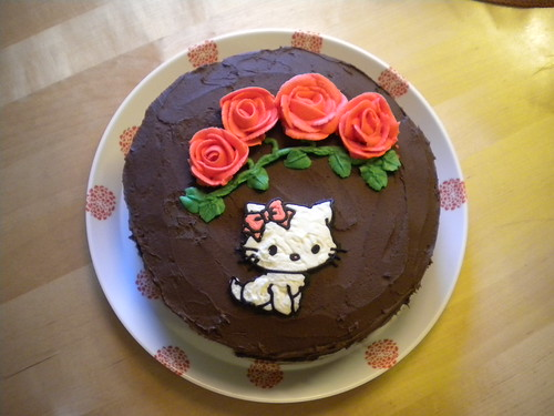Hello Kitty Cake by Cupcake Trainee