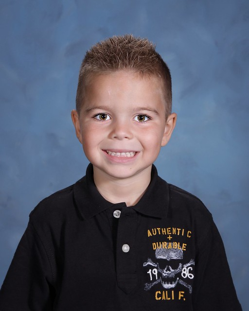 First Grade School Photo 2011-2012