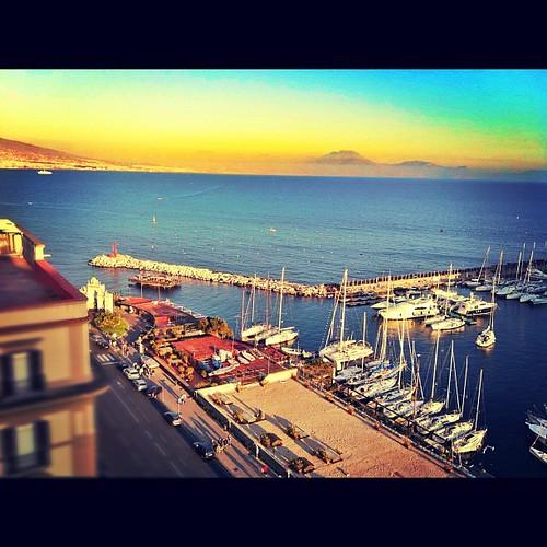A glimpse on Naples seaside