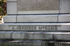 Jennings McComb marker - Sleepy Hollow Cemetery 0004
