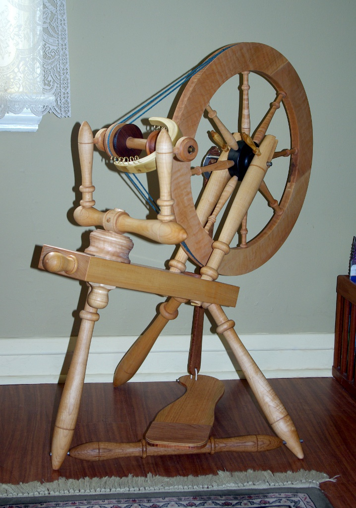 Spinning Wheel Complete