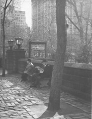 5th Ave 61st St 1949-300DPI (Lenny Campello) Tags: nyc newyork canada france boston portraits vintage french photography scotland dancers dancing quebec tennessee artists mingus vintagephotos lifetime gaspepeninsula exxonbuilding scottishartists lidamoser newyorkphotoschool