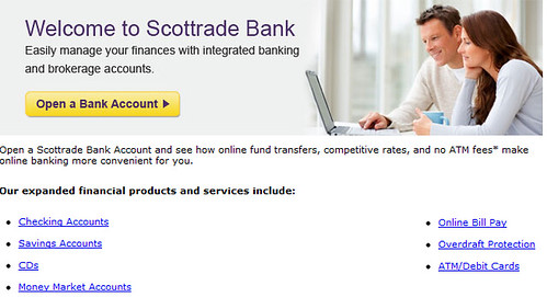 Scottrade Bank review