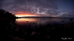 Haseltangen panorama (May Elin Aunli) Tags: nightphotography sunset lighthouse norway night norge natt grimstad nattfoto torungen hasla haseltangen