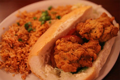 Fried Oyster sandwitch