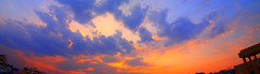 SunSet_Panaromic - #06102011 (photographic Collection) Tags: sunset sky sun india set oct olympus photographic collection e300 hyderabad andhra 6th coluds panaromic pradesh evolt andhrapradesh 2011 sarma firy kalluri spiritofphotography bheemeswara bheemeswarasarmakalluri photographicciollection