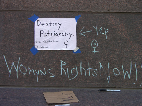 destroy Patriarchy end capitalism