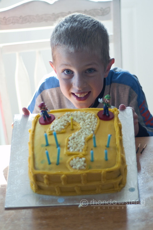 Alden & His Item box cake