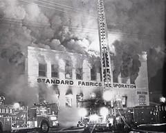 Standard Fabrics Fire Major Emergency April 4, 1981