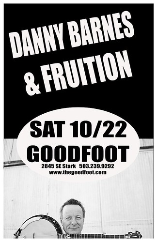 Danny Barnes @ The Goodfoot