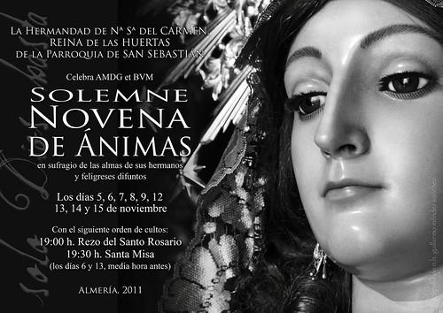 NOVENA A LAS ÁNIMAS 2011