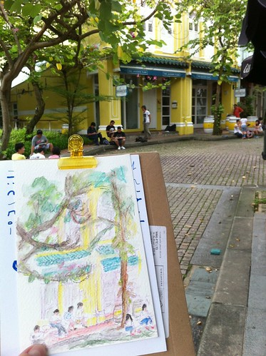 Sketchwalk at Duxton