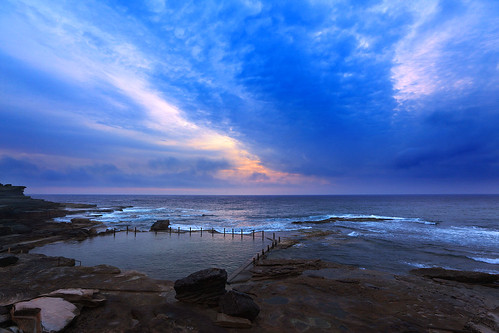 Mahon Pool at Dawn