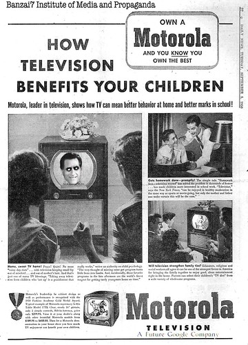 THE POSITIVE EFFECTS OF TELEVISION by Colonel Flick