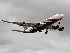 CS-TFX A340-542 (Irish251) Tags: uk england london airport heathrow airbus lhr a340 egll hifly a345 a340500 arikair cstfx a340542