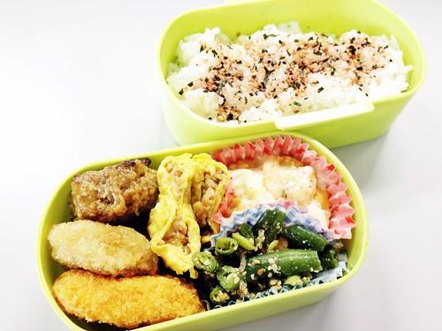 今日のお弁当 No.208 – 鮭わかめ
