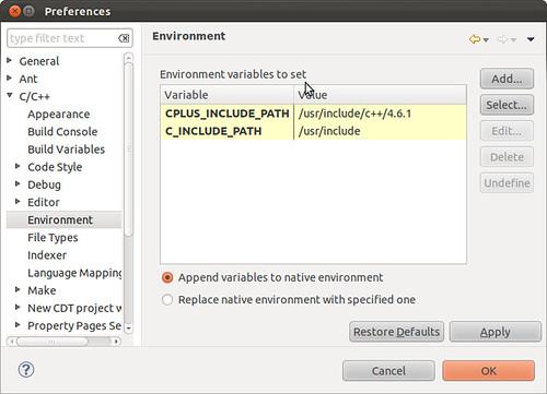 Ubuntu 11.10 eclipse c++ pic02