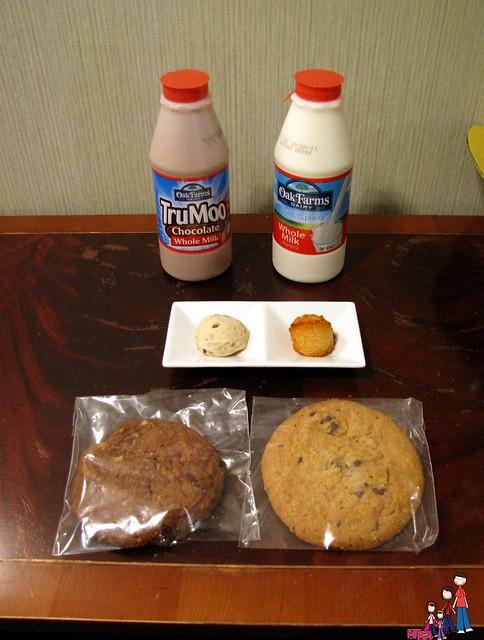 Milk & Cookies at Omni Mandalay Hotel
