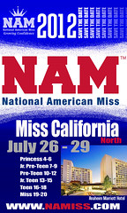 National American Miss California North 2012 Dates