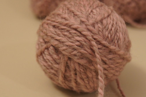 2 ply handspun merino yarn