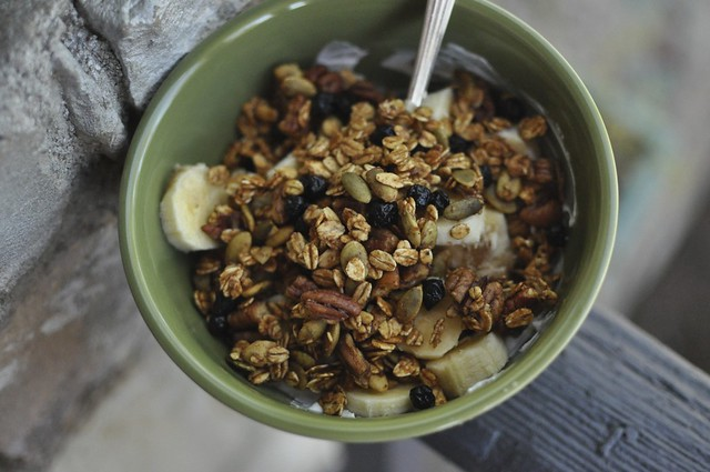 five-ingredient granola