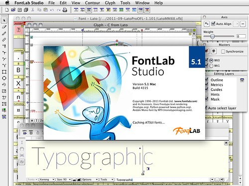 Lato in FontLab Studio 5.1