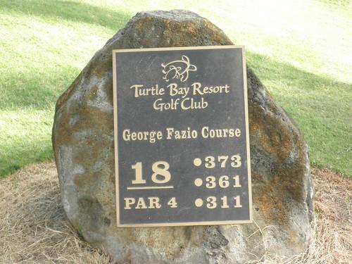 Turtle Bay Colf Course 125
