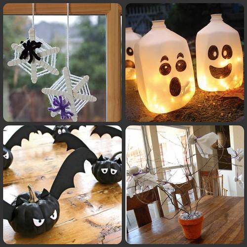 Four Fun Halloween Crafts!
