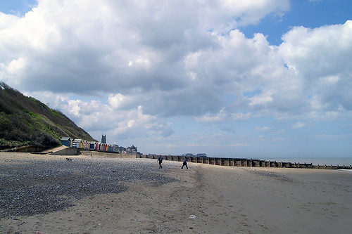 Cromer - View on Beach and Town
