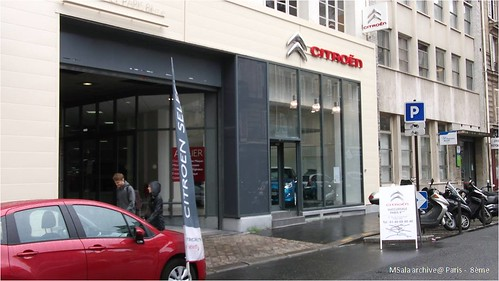 4 - Standard Showroom Citroen Paris
