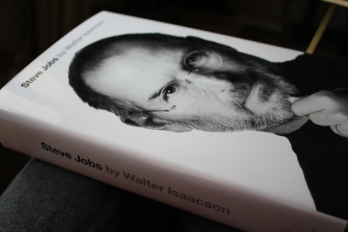Steve Jobs biography from side