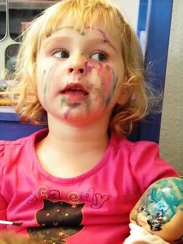 baby face paints