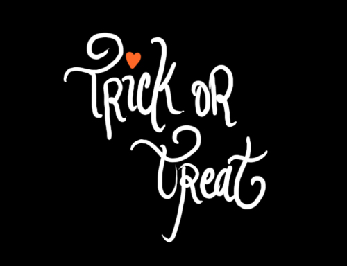 Trick Or Treat Illustration by Marivic Ulep via define1lady on blogger