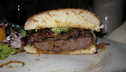 Hütten-Burger - Querschnitt