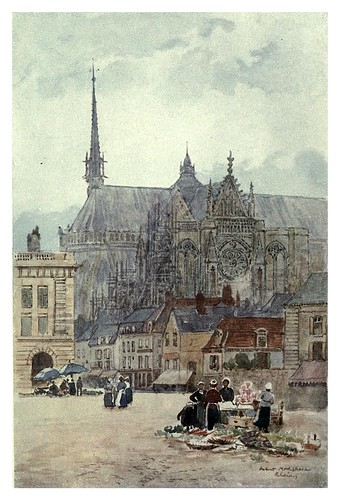 024-Catedral de Rheims-Cathedral cities of France 1908- Herbert Menzies Marshall