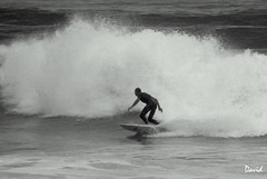 Mono Surfer (Wipeout Dave) Tags: ocean france sports lumix surf waves surfer francais landes aquitaine gironde wipeoutdave