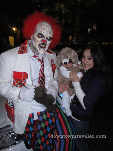NYC Village Halloween Parade 2011_Scary clown
