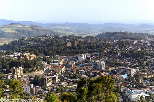 Gondar, with the Royal Enclosure looming