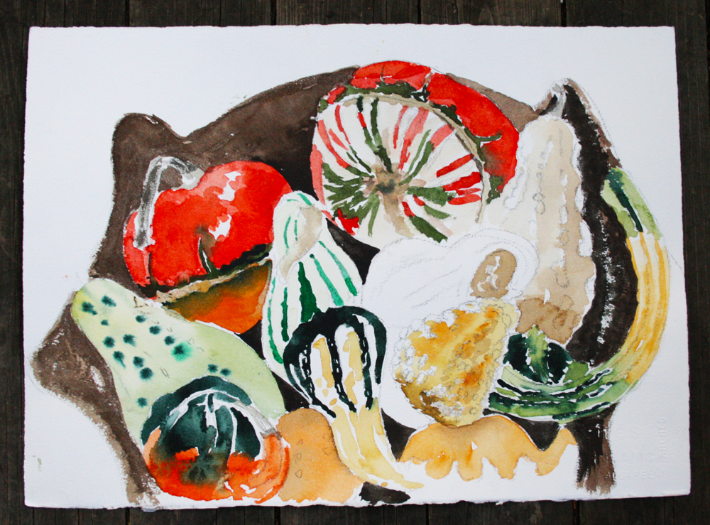 Gourds&Squashes (watercolour)_9538
