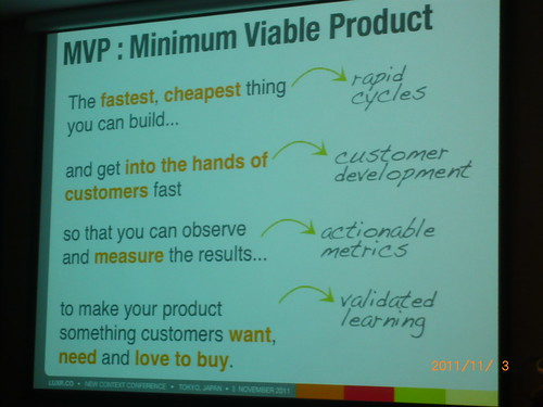 #NCC2011F Slides from Finding The Right Idea 2: Minimal Viable Product by Kate Rutter