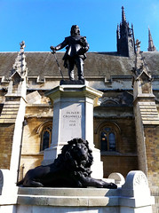 Cromwell at Parliament