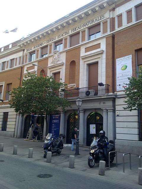 Imaginary en la Real Academia de Ciencias Exactas, Físicas y Naturales de Madrid