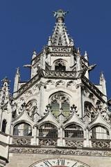 Rathaus Tower (zetgem) Tags: travel vacation germany munich rathaus marienplatz newtownhall mnchen