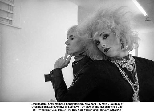 Cecil Beaton - Andy Warhol & Candy Darling - New York City 1969 by artimageslibrary