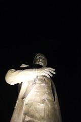 Tamajdan Statue (bmhammo) Tags: park statue night dark serbia belgrade tamajdan tasmajdan