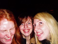 Us (Elysia in Wonderland) Tags: tongue night lucy emily display fireworks bonfire grins cheesy cheesey elysia